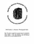1966 Stanley A. Bauman Photograph Index