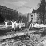 Spring Training In Snow by Stanley Bauman