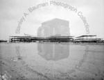 Construction of new Brockton High School by Stanley Bauman