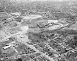 Aerial Photograph of the New Brockton High School by Stanley Bauman