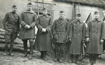 Officers of Company D at Requeil