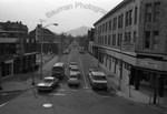 Belmont Street, looking west from Main Street by Stanley Bauman