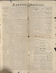 Easton Journal, October 30, 1885 by Easton Historical Society