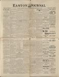 Easton Journal, December 11, 1885 by Easton Historical Society
