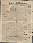 Easton Journal, January 8, 1886 by Easton Historical Society