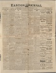 Easton Journal, March 19, 1886 by Easton Historical Society