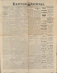 Easton Journal, May 14, 1886 by Easton Historical Society