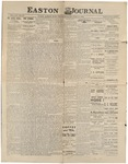 Easton Journal, June 11, 1886 by Easton Historical Society
