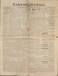 Easton Journal, August 13, 1886 by Easton Historical Society