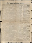 Easton Journal, February 4, 1887 by Easton Historical Society