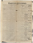 Easton Journal, February 25, 1887 by Easton Historical Society