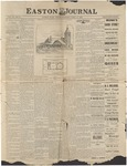 Easton Journal, April 15, 1887 by Easton Historical Society