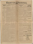 Easton Journal, April 14, 1888 by Easton Historical Society