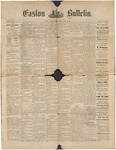 Easton Bulletin, July 6, 1888 by Easton Historical Society