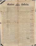 Easton Bulletin, July 20, 1888 by Easton Historical Society