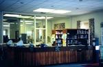 The Circulation Desk at Cushing-Martin Library