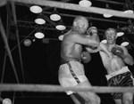 Rocky Marciano vs. Ezzard Charles by Stanley Bauman