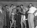 Marciano-Moore Weigh-in Scene by Stanley Bauman