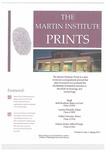 The Martin Institute Prints, Spring 2014
