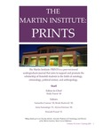 The Martin Institute Prints, Spring 2020 by Stonehill College: The Martin Institute for Law and Society