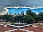 A Cloud Over the Library Fountain by Jennifer M. Macaulay