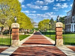 Spring Colors on Campus by Jennifer M. Macaulay